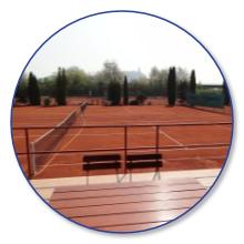 Tennisheim Bogen